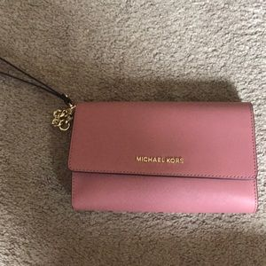 BRAND NEW MK purse with removable wallet and strap